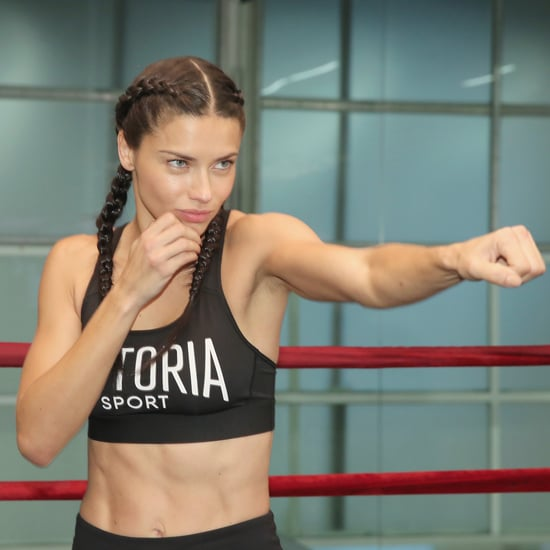 Adriana Lima's Abs Pictures