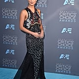 Alicia's Mary Katrantzou number stood out by a mile at the Critics' Choice Awards.