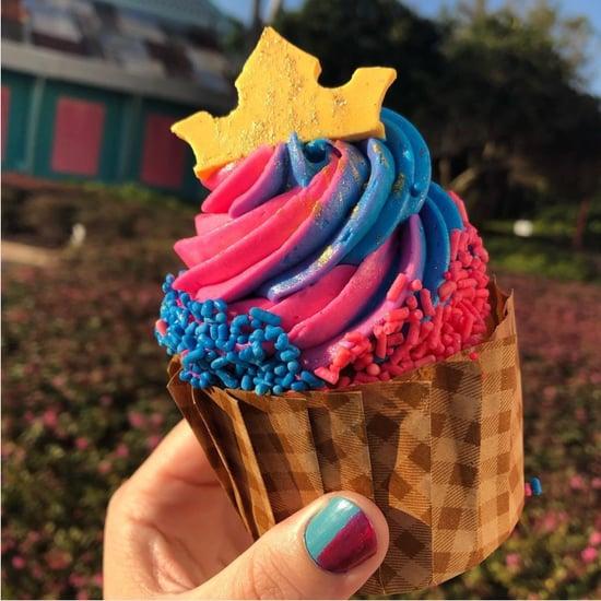 Disney World Princess Aurora Cupcakes