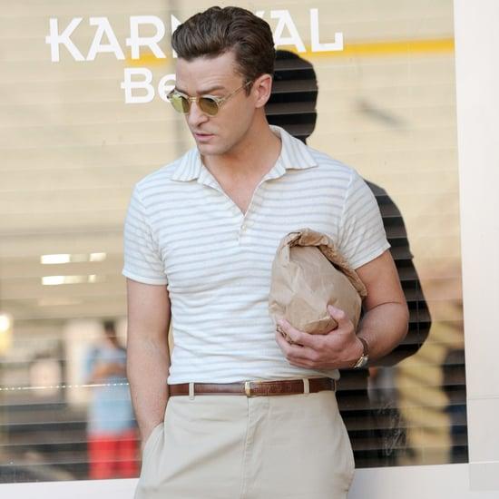 Justin Timberlake dreht neuen Woody Allen Film in NYC 2016