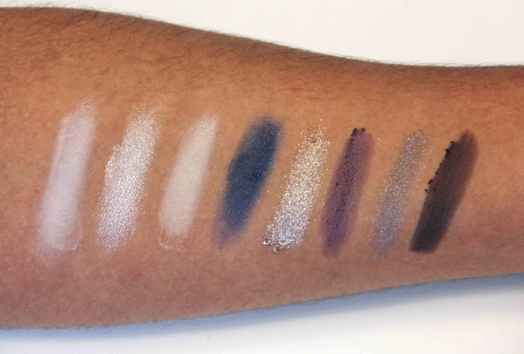 Kardashian Beauty Touch Tones Gradient Eye Color Set in Smokin' Hot Swatched on Medium to Dark Skin