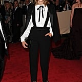 Alexa attended the Costume Institute Gala Benefit 2010 in an androgynous look by Phillip Lim.