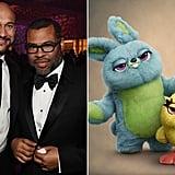 Keegan-Michael Key and Jordan Peele as Ducky and Bunny