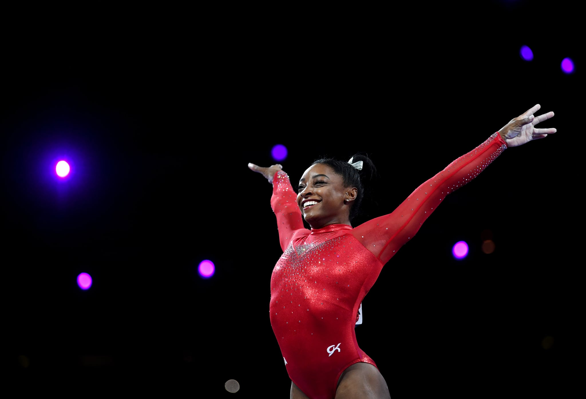 "Simone Biles Says Celebrating Her Successes Isn't Cocky: ""The Facts Are Literally on Paper"""