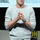 Nicholas Hoult participated in a panel for X-Men: Days of Future Past.