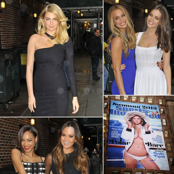 Kate Upton Gets Help From Her Model Friends to Debut SI Swimsuit Cover