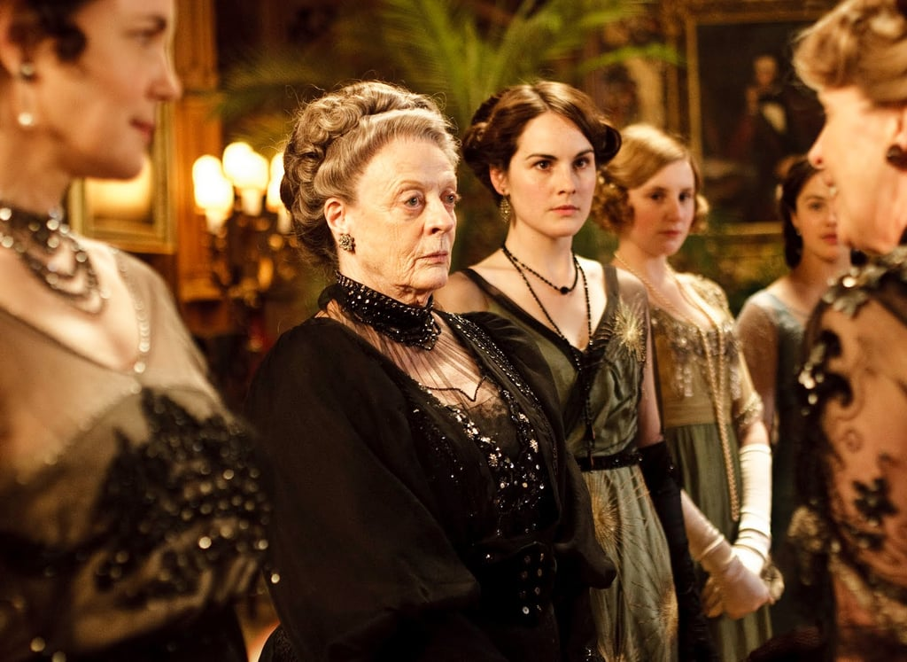 "Mary Crawley: ""Sybil is entitled to her opinions."" Lady Violet: ""No. She isn't until she is married, then her husband will tell her what her opinions are."" Photo courtesy PBS"