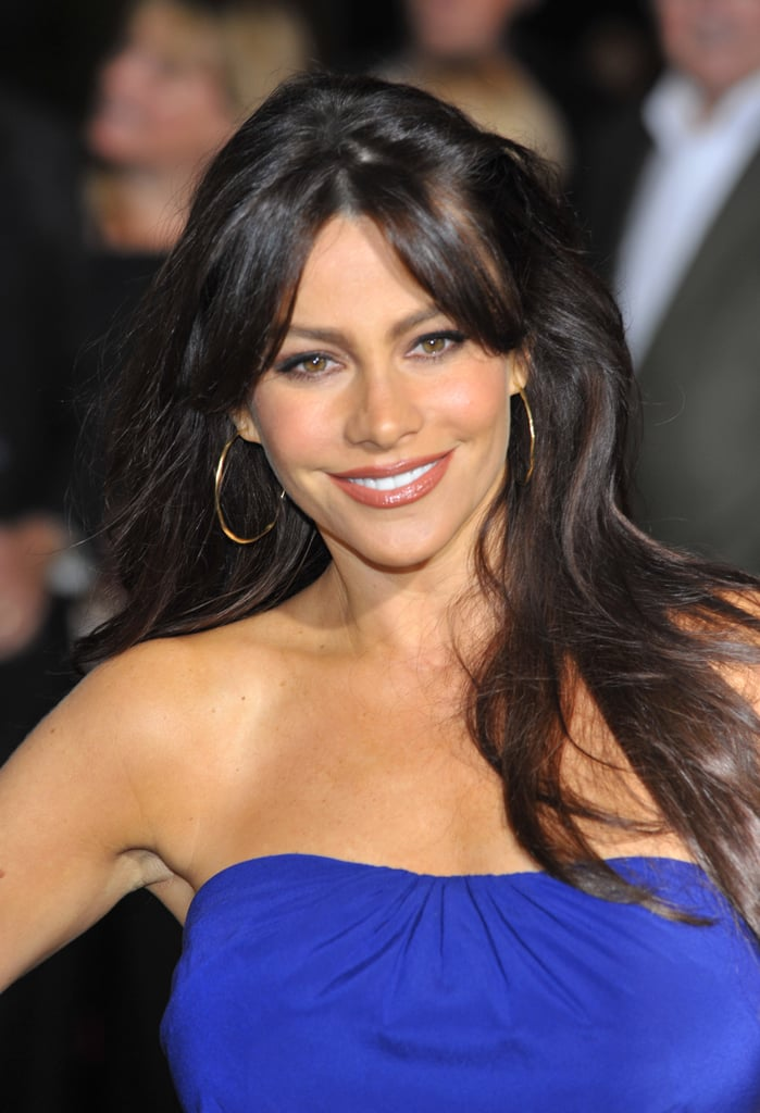 Sofia Vergara's Black Hair Color