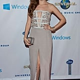 Anna Kendrick kept the party going at the Universal Music Group fete.
