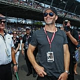 Chris Pine at Indy 500 Pictures 2016