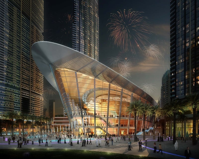 Dubai Opera 2016 Performance Schedule