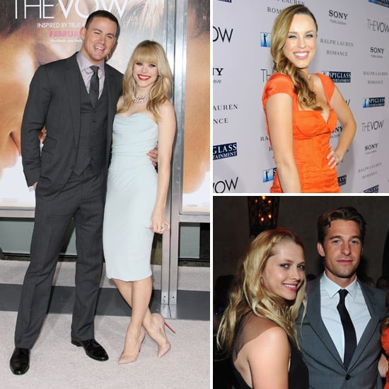 Channing, Rachel, Jessica and Scott Reunite For The Vow's LA Premiere
