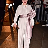 Debi Mazar at Marc Jacobs's Wedding