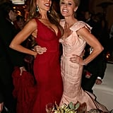 Sofia Vergara and Julie Bowen joined up for a photo at the Fox after party.