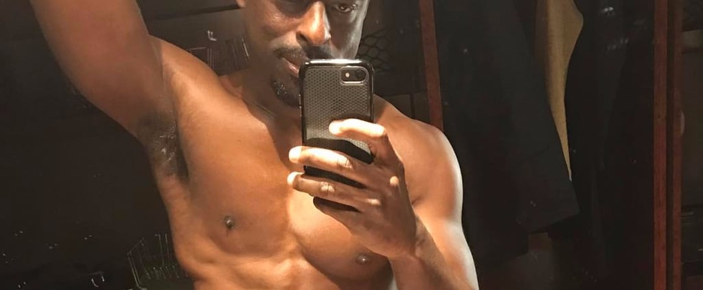 This Shirtless Photo of Sterling K. Brown Will Leave You in a Cold Sweat