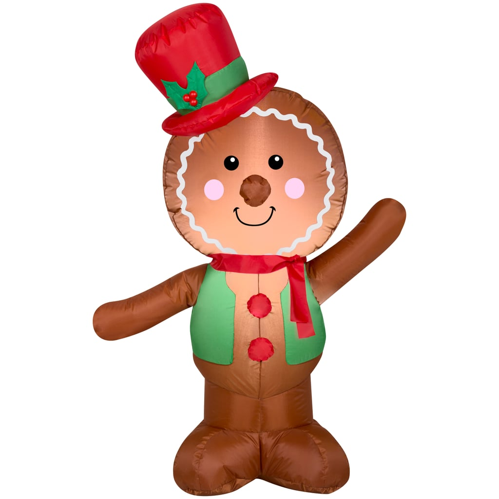 christmas gingerbread man inflatable - Christmas Gingerbread Man