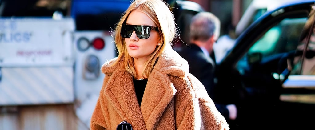 Forget Teddy Bears — We Just Want to Cuddle Rosie Huntington-Whiteley's Cozy Coat