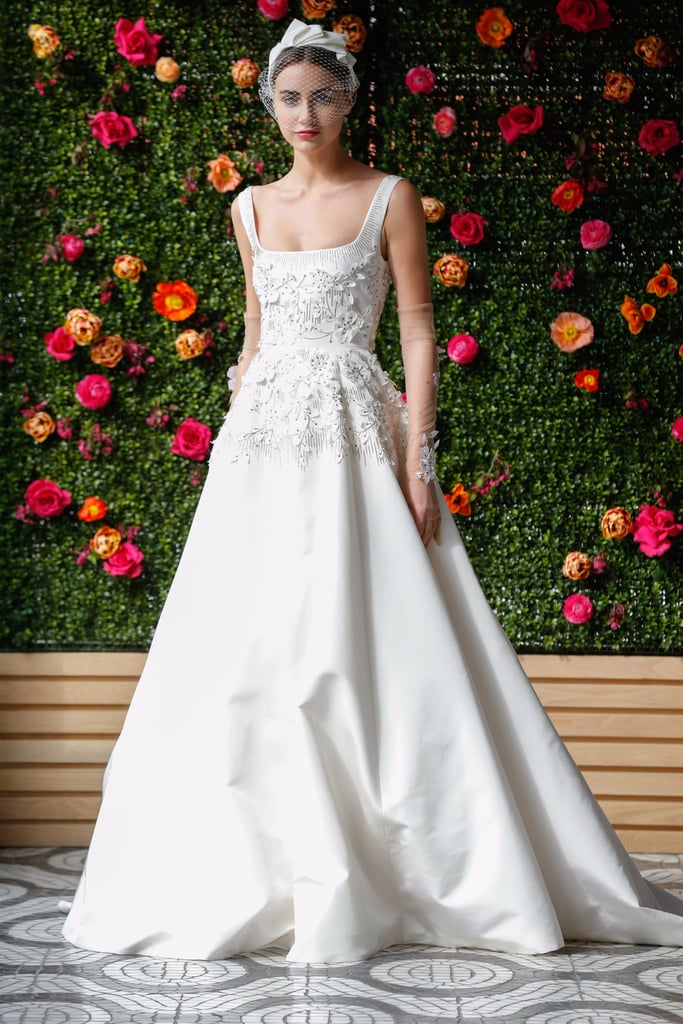 Wedding dress trends 2018 popsugar fashion for Current wedding dress trends