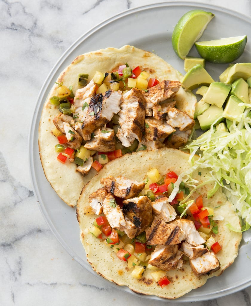 Paleo Grilled Fish Tacos