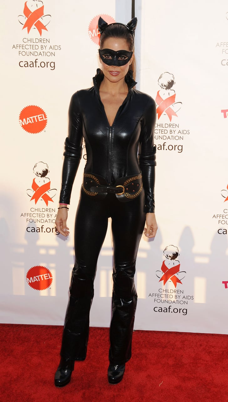 Brooke Burke Wore A Skintight Catsuit At An La Celebration