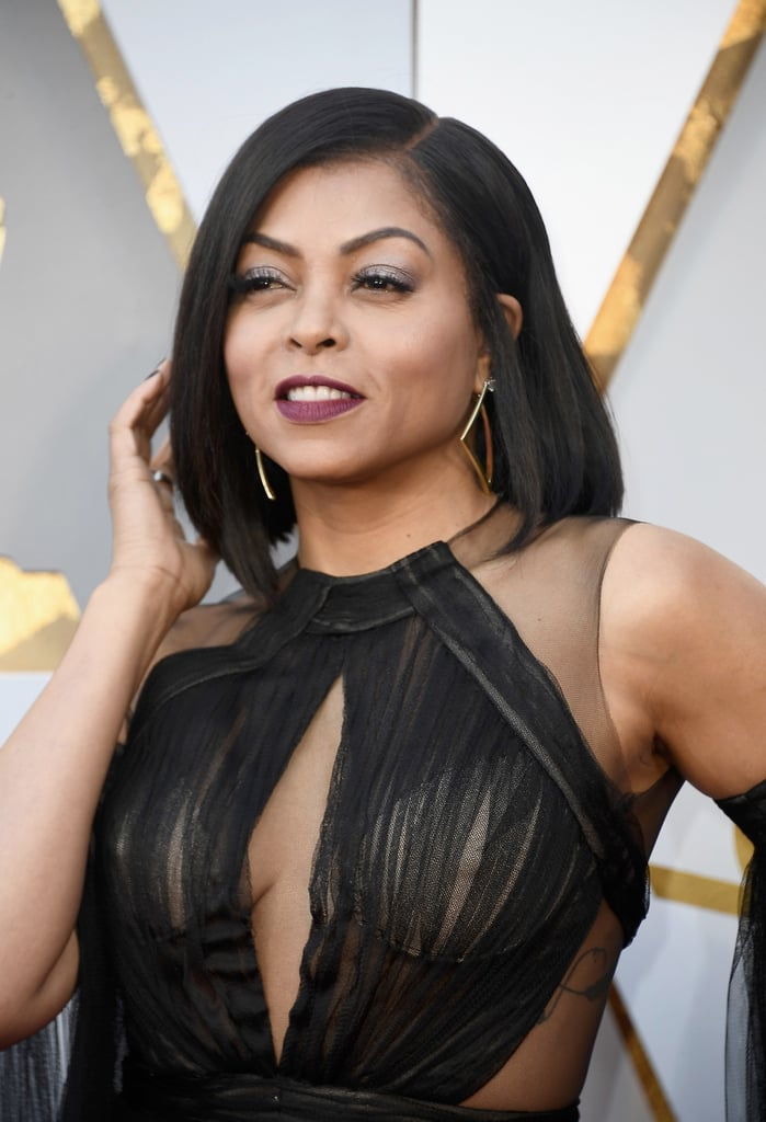 Taraji P. Henson at the 2018 Oscars