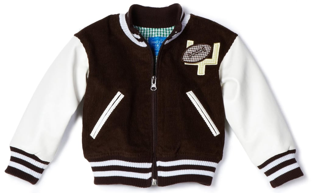 Mud Pie Infant Football Jacket