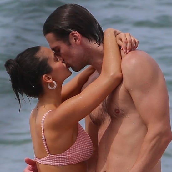 Nina Dobrev and Grant Mellon Kissing in Hawaii August 2019