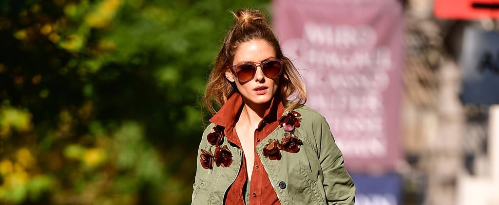 Olivia Palermo Can't Stop, Won't Stop Wearing This Potter's Clay Color