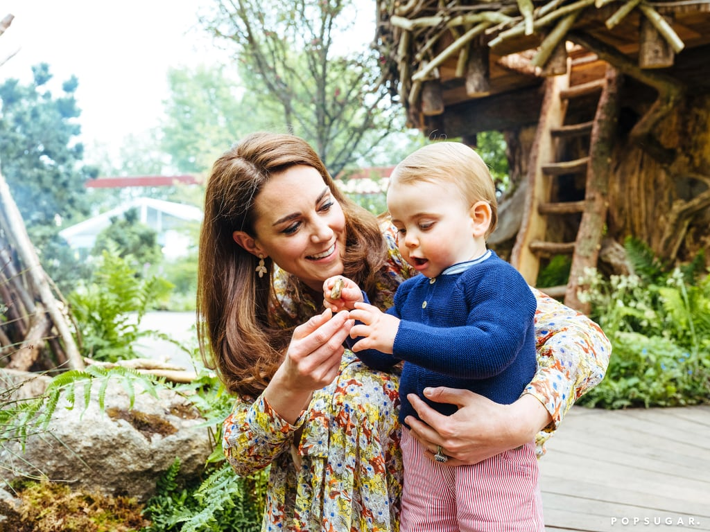 Kate Middleton Family Pictures at Back to Nature Garden 2019