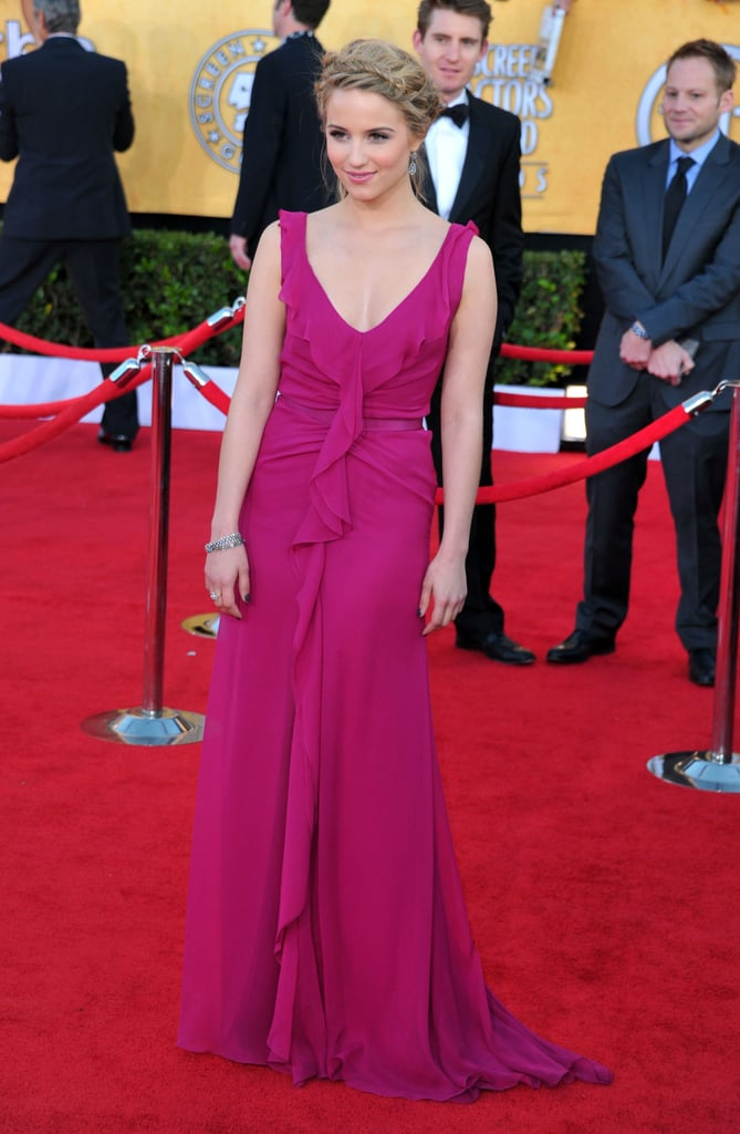 Dianna Agron at the 2012 SAG Awards