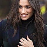 Meghan Markle's Long, Ropy Waves,  2018