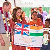 Kate Middleton Moments With Kids in India 2016