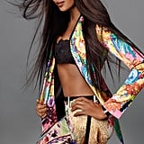 Naomi Campbell rocks this bright patterned look from Roberto Cavalli. Source: Fashion Gone Rogue