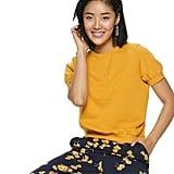 POPSUGAR Short Sleeve Sweatshirt