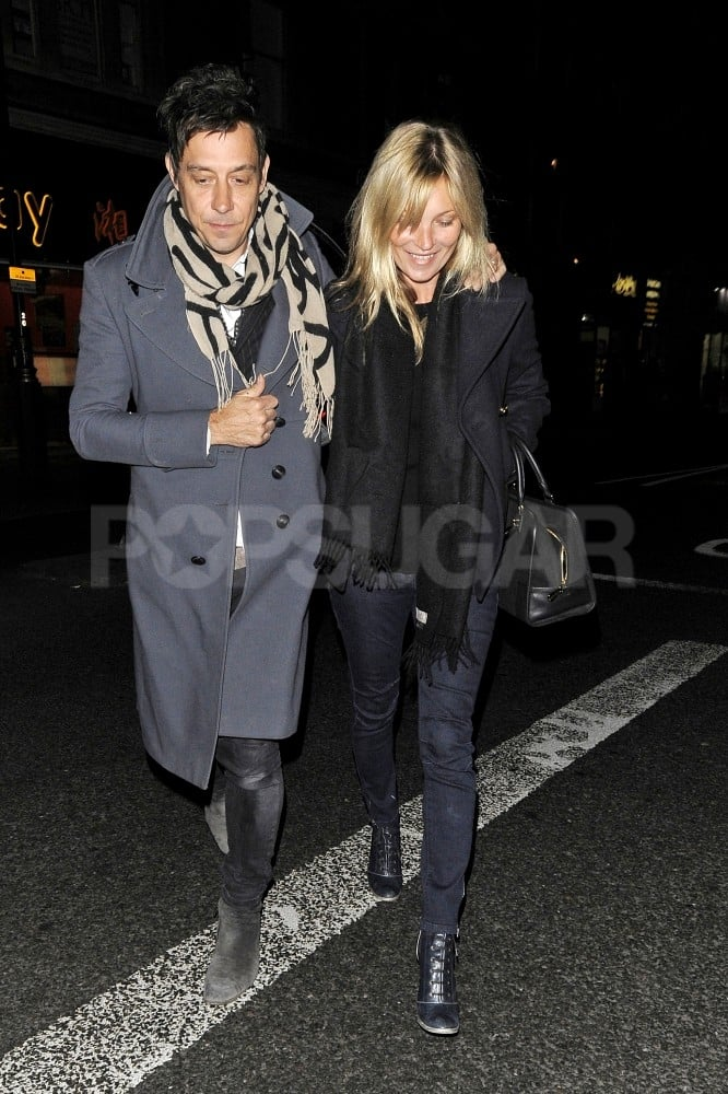 Kate Moss and Jamie Hince went to London's Curzon cinema together.