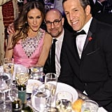 Jennifer Hudson, Stanley Tucci, and Kenneth Cole