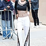 Bella's Mesh Top and Tear-Away Pants