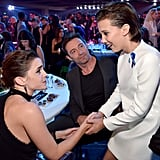 Millie Bobby Brown at the MTV Movie and TV Awards 2017