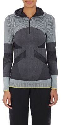 Adidas X Stella Mccartney Women S Colorblocked Half Zip Hoodie