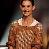 Katie Holmes on the Tonight Show.