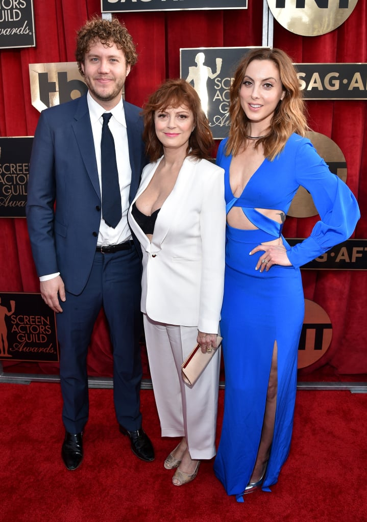 Susan Sarandon brought along son Jack Robbins and daughter Eva Amurri in 2016.
