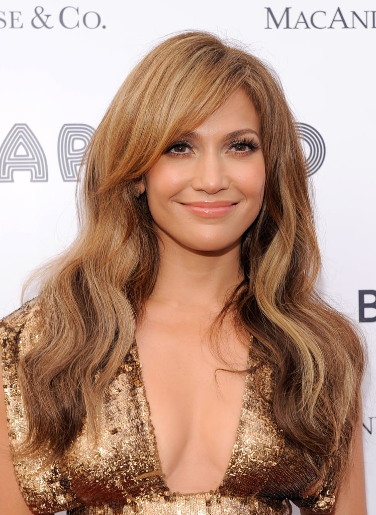 Jennifer Lopez's Caramel Waves