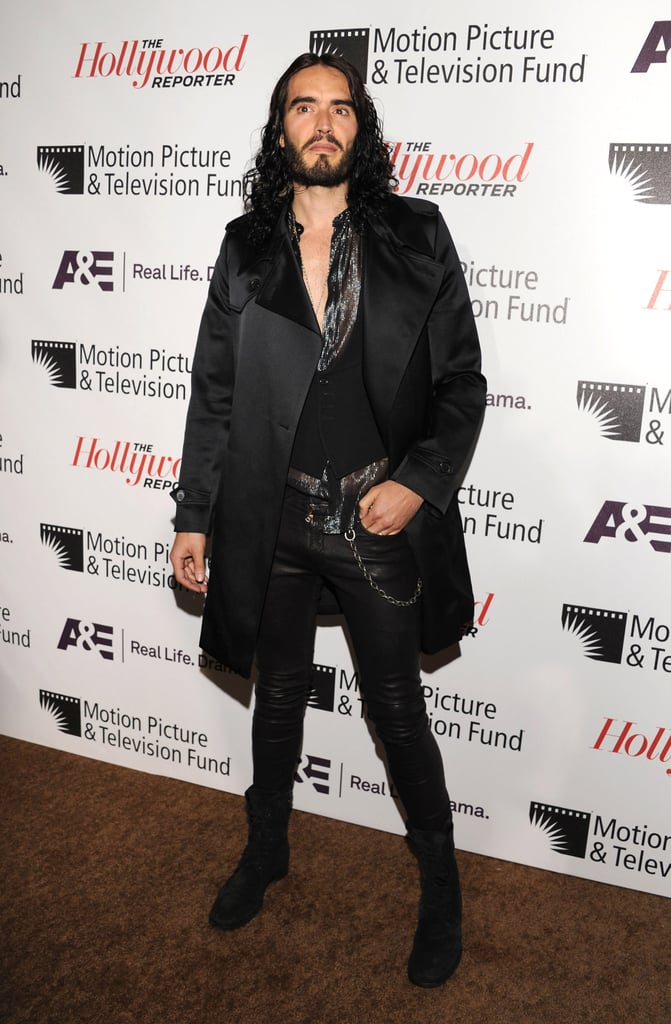 "Russell Brand at the Motion Picture & Television Fund's ""Reel Stories, Real Lives"" in Hollywood."