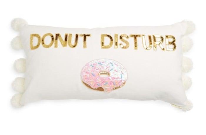 Bow & Drape Pom Pillows