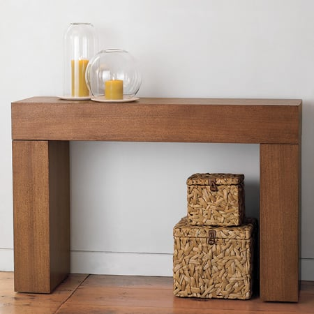 Steal of the Day West Elm Chunky Console Table POPSUGAR Home
