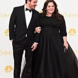 The dynamic duo wowed in black on the red carpet at the 2014 Emmys.