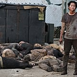 The Scene of Negan's Beating Is Going to Be Bloody Disgusting