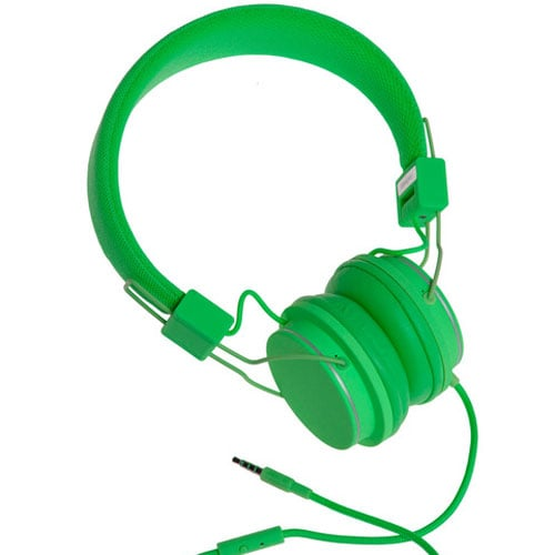 Urbanears Plattan headphones in grass ($68)