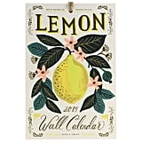 Rifle Paper Lemon Wall Calendar 2019