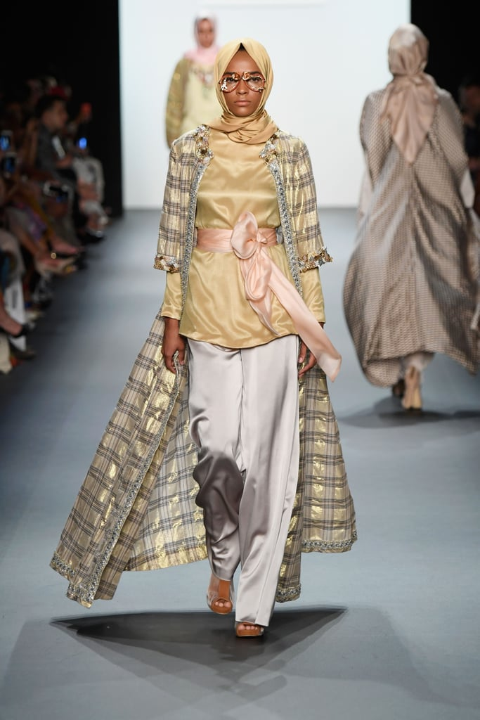 The First Hijab Designer Showed Her Collection